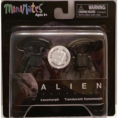 Minimates   Alien Covenant   Xenomorph   Translucent Xenomorph  Exclusive