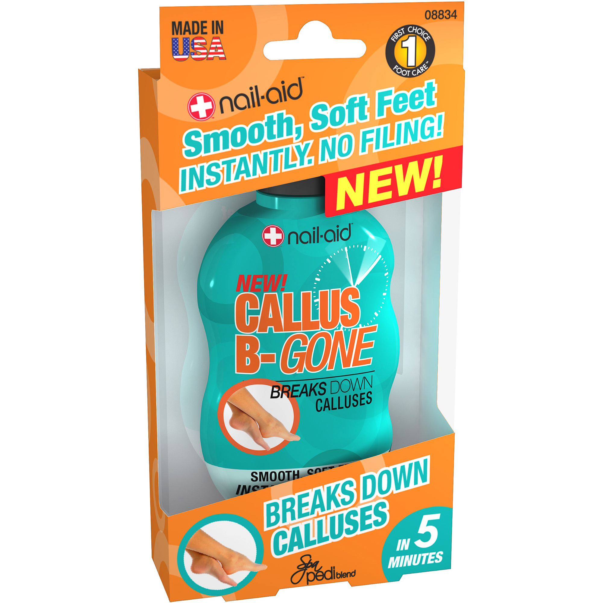 Nail-Aid Callus B-Gone Gel, 2.25 fl oz