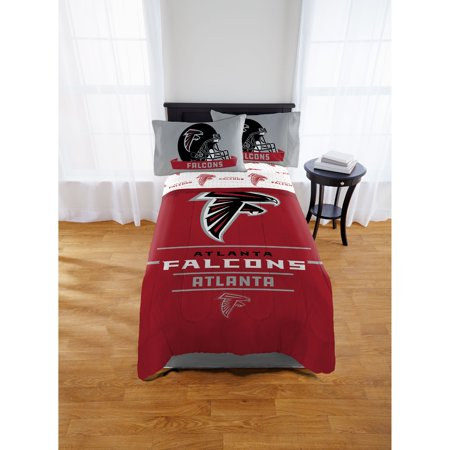 NFL Atlanta Falcons Monument Twin & Full Comforter Set, 1 (Atlanta Falcons Nfl Car Mats)