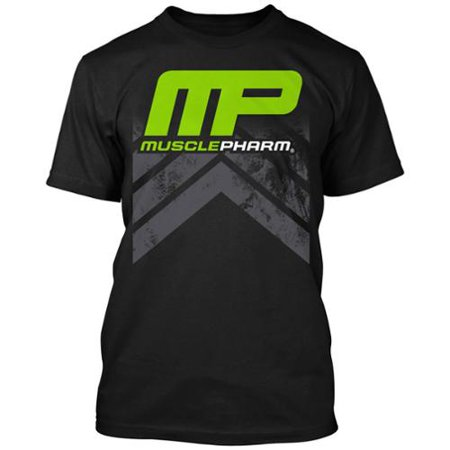 - MusclePharm Mens MP Chevron T-Shirt - Black - S - mma training gym ufc
