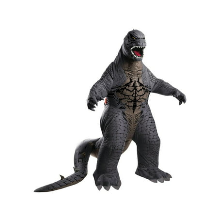 Halloween Godzilla: King of the Monsters Godzilla Inflatable Adult (Men's Cookie Monster Costume)