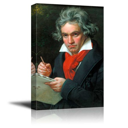 Beethoven by Joseph Karl Stieler Giclee Canvas Prints Wrapped Gallery Wall Art | Stretched and Framed Ready to Hang - 16