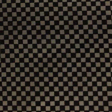 SHASON TEXTILE FAUX LEATHER CHECKERS PRINT UPHOLSTERY FABRIC, (Black Faux Leather)