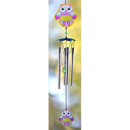 Spoontiques Butterfly Handpainted Metal Chime - image 1 de 2