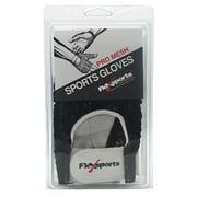 Flexsports International Pro Mesh Sports Gloves, Black, Extra Large