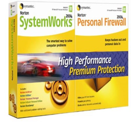 Norton SystemWorks/Personal Firewall 2004 Bundle
