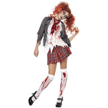 Ladies Zombie Bride Halloween Costume (40