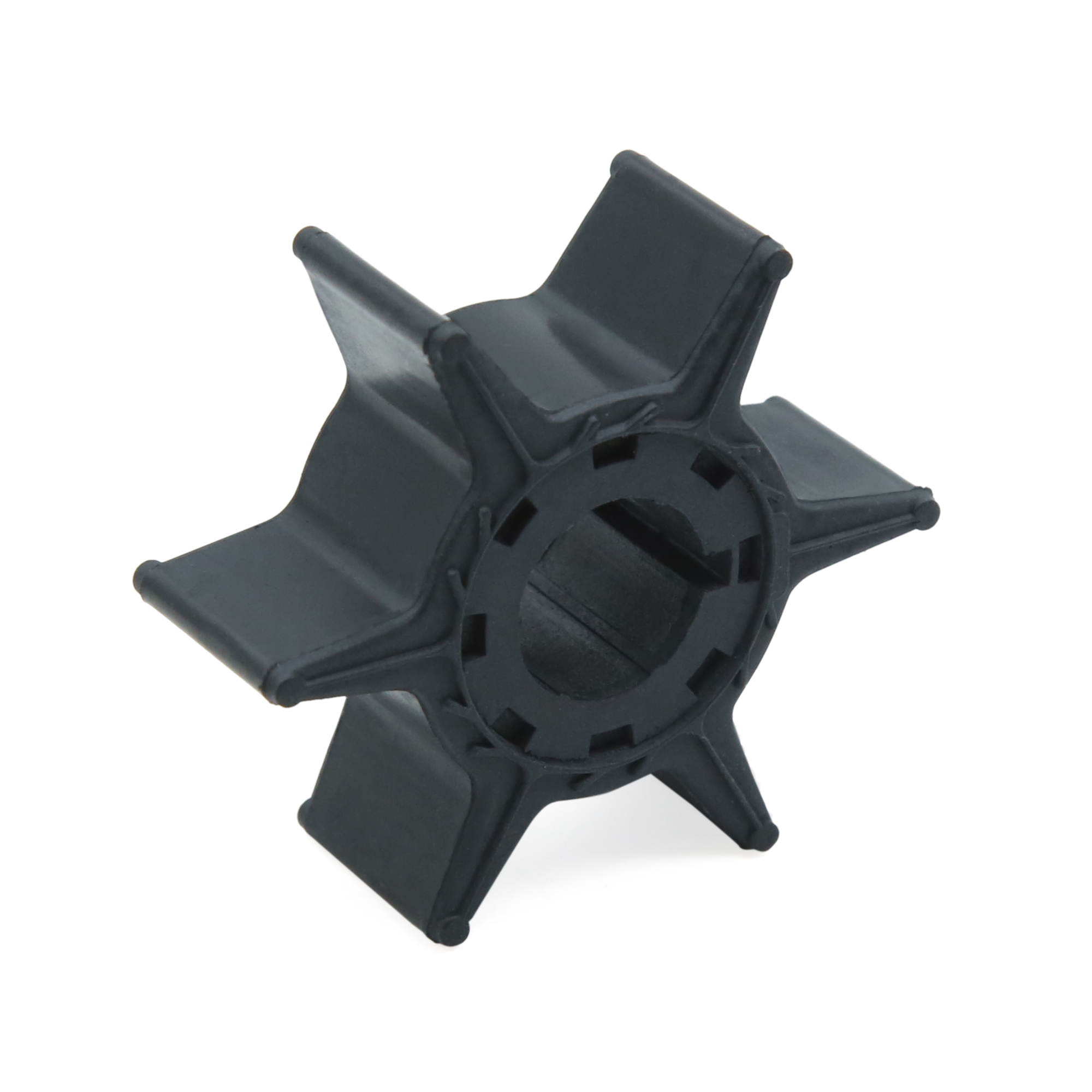Black Boat Outboard Water Pump Impeller for Yamaha 20 25hp 6L2-44352-00-00 - image 5 de 5