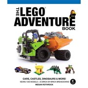 The LEGO Adventure Book, Vol. 1 : Cars, Castles, Dinosaurs and More!
