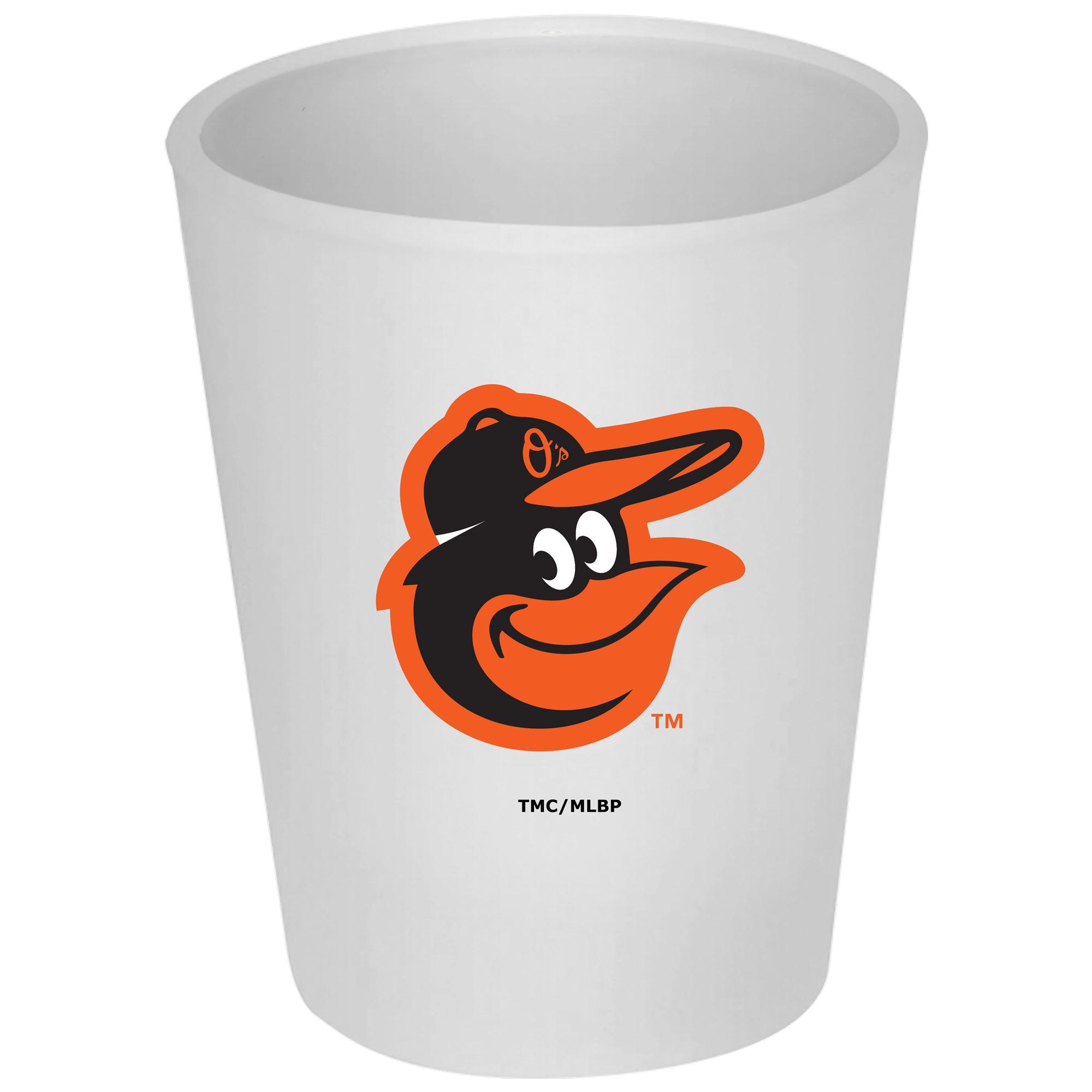Baltimore Orioles 4.5oz. Frosted Souvenir Glass - No Size