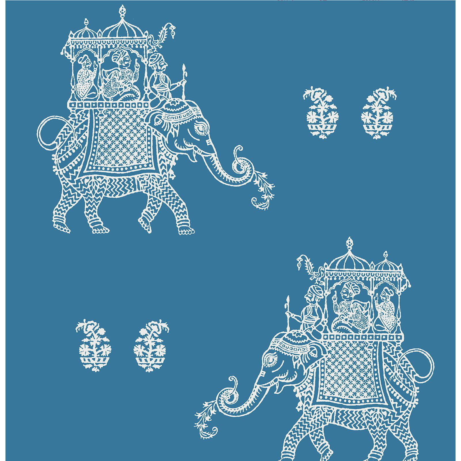 Image of A - Street Prints Kismet Ophelia Elephant Wallpaper