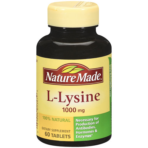 Nature Made L-Lysine Tablets, 60ct