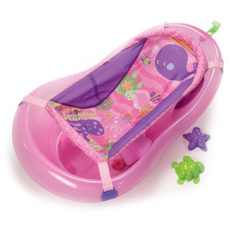 Fisher-Price 3-Stage Pink Sparkles Bathtub - Walmart.com