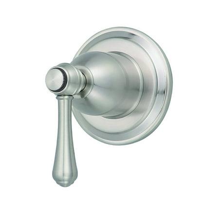Danze Opulence One-Handle Trim Kit for 3/4 Volume Control & 3-Port/2-Outlet Shower Diverter & 4-Port/3-Outlet Shower Diverter Brushed Nickel