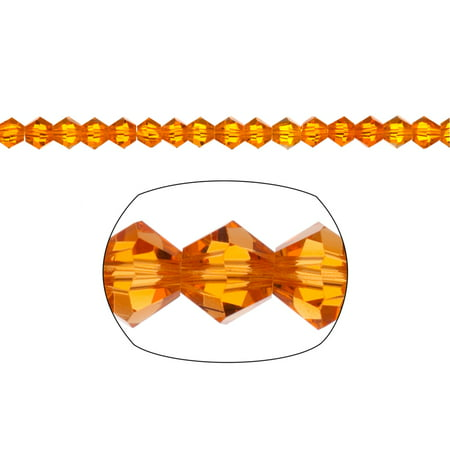 Bicone Crystal Beads Sunflower Faceted xilion Crystal For Jewelry Making mm 92Cnt (Facetted Bicone)