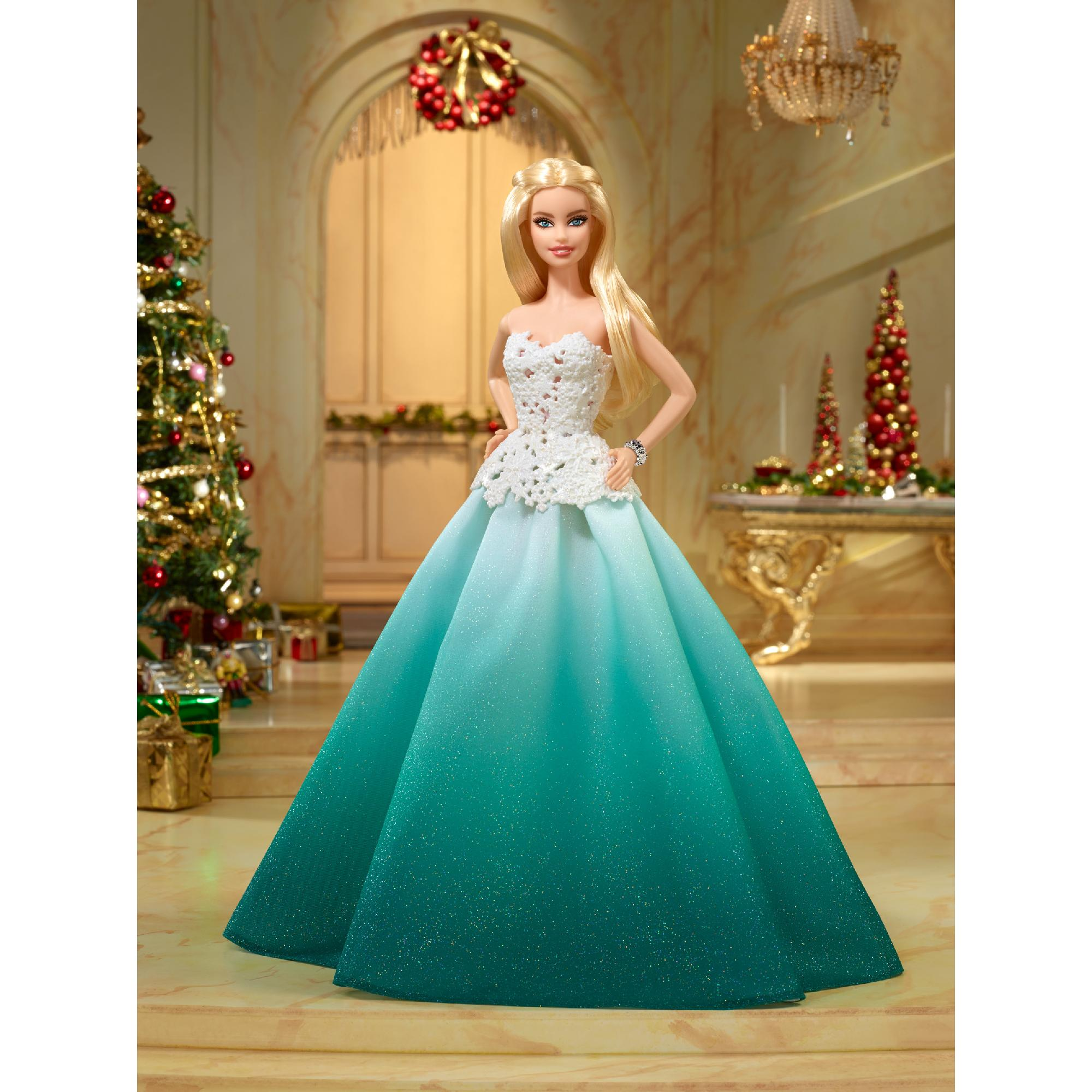 2016 Holiday Barbie Doll - Walmart.com