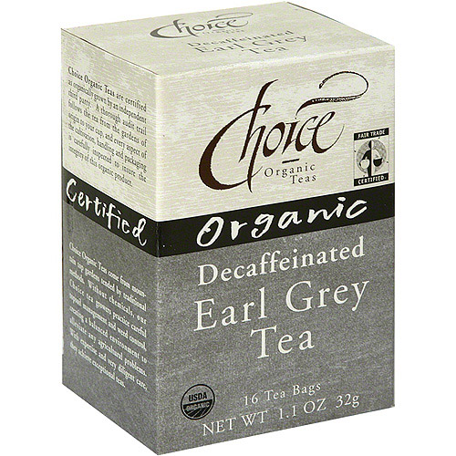 Choice Organic Teas Organic Decaf Tea, 16BG (Pack of 6)
