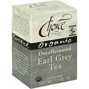 ***Discontinue***Choice Organic Teas Organic Decaf Tea, 16BG (Pack of 6)