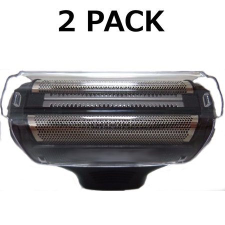 2 Wahl Body Groomer #95028 Shaver Dual Foil Head + Cover Lithium Ion 9884 9818 (Dual Shaving Heads)