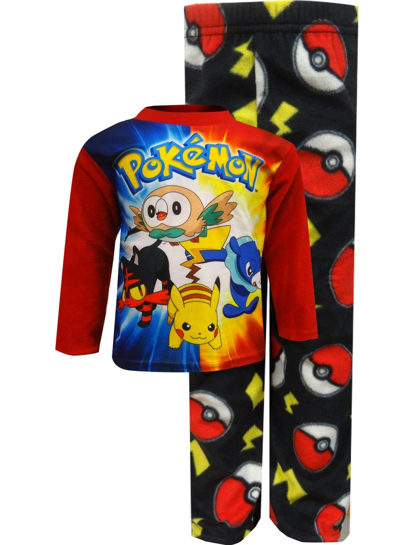 Pokemon Boys Fleece Pajamas (Little Kid/Big Kid)