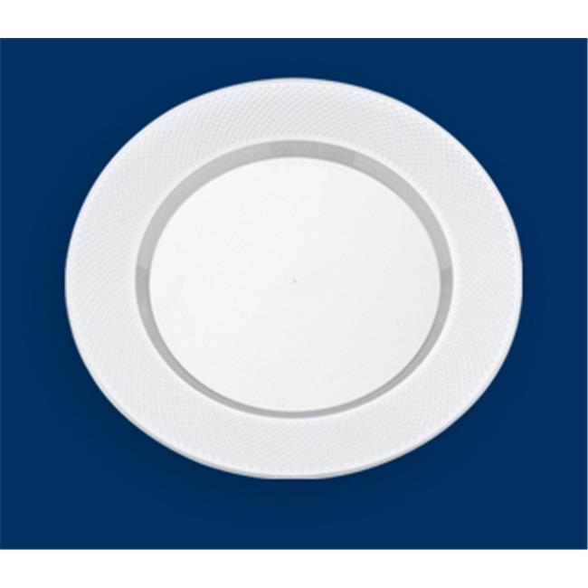 Maryland Plastics Concord CASE-CC07016 7 in. Hors DOeuvres Plastic Plate - Clear 150 Per Pack