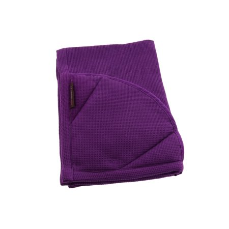 Rachael Ray Kitchen Towel and Oven Glove Moppine – A 2-in-1 Kitchen Towel with Pot-Holders - Lavender / Pack of 1 - Tea Gloves