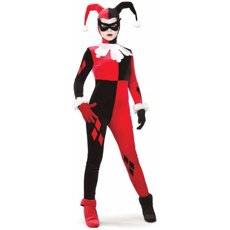 Gotham Girls DC Comics Harley Quinn Women's Adult Halloween Costume - Halloween Harvey