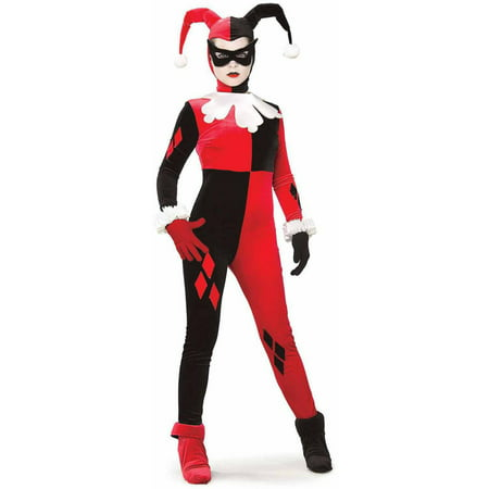 Gotham Girls DC Comics Harley Quinn Women's Adult Halloween Costume](Quinn Costume)