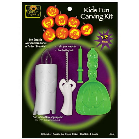 Kids Fun Pumpkin Carving Kit - Good Halloween Pumpkin Carvings