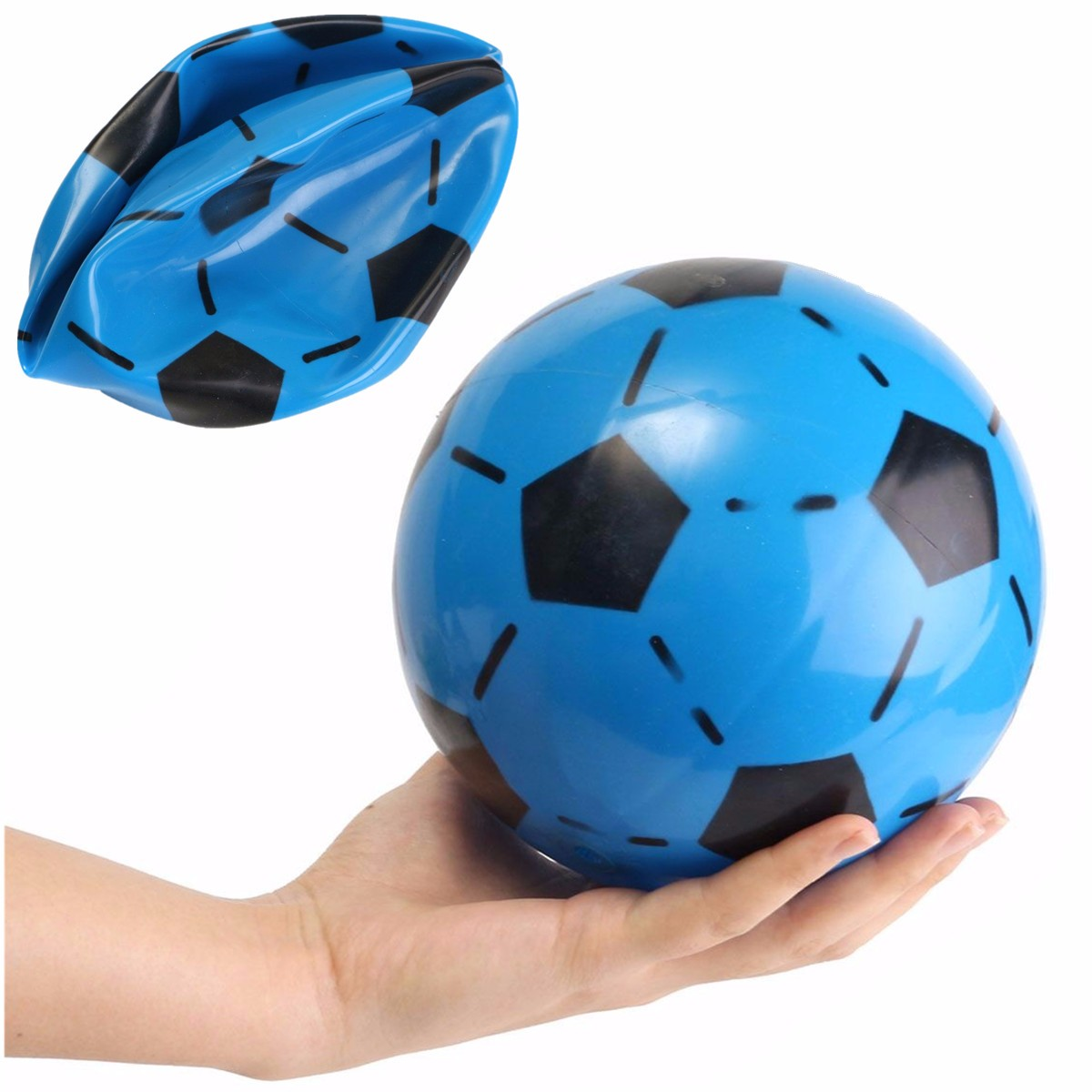 15cm 5.91'' PVC Inflatable Football Soccer Kids Toy Swimming Pools Summer Outdoor Beach... by