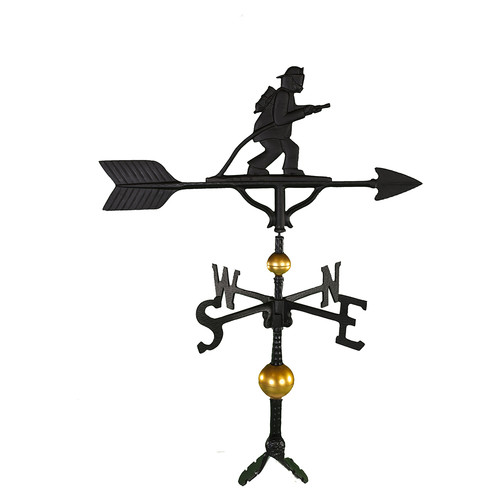 Montague Metal Products Inc. Deluxe Fireman Weathervane