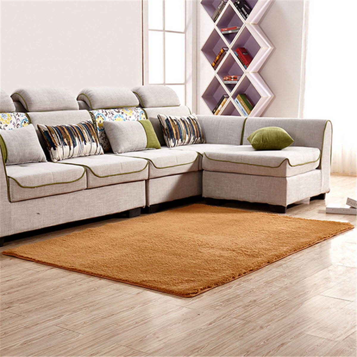 63x47 2 63x31 5 Inch Anti Skid Shaggy Fluffy Area Rug Bedroom Carpet Floor Warm Mat For Home Decor 160x120cm 160x80cm