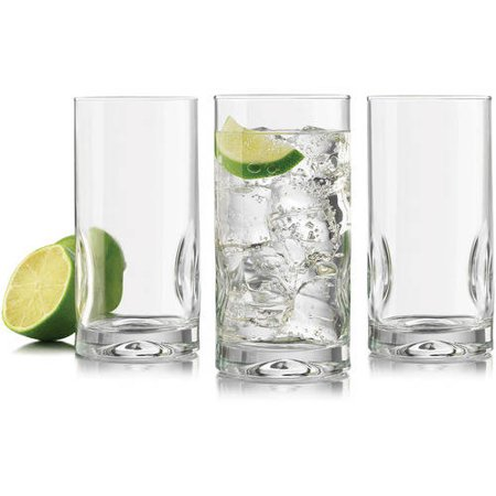 Libbey Glassware Glass Intuition Cooler Glass, 8 Count