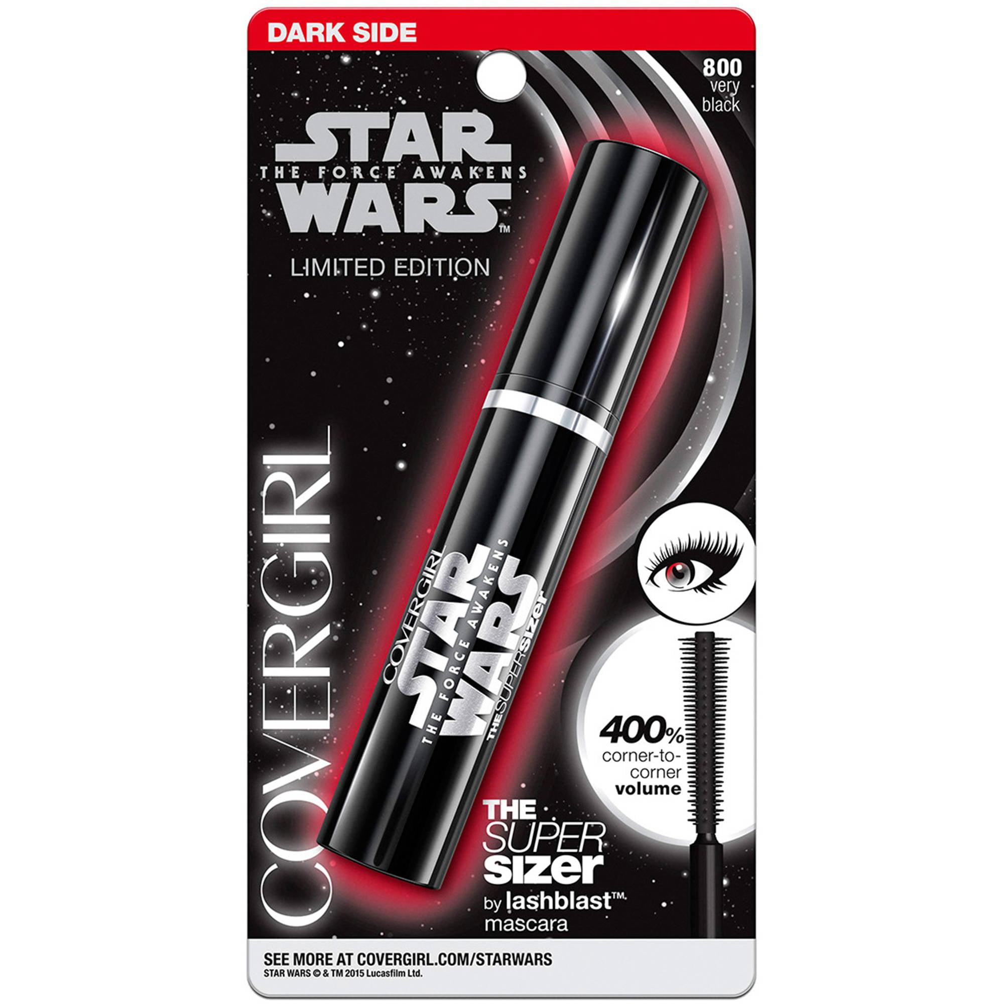 COVERGIRL Star Wars The Super Sizer by lashblast Mascara, 800 Very Black, 0.4 fl oz