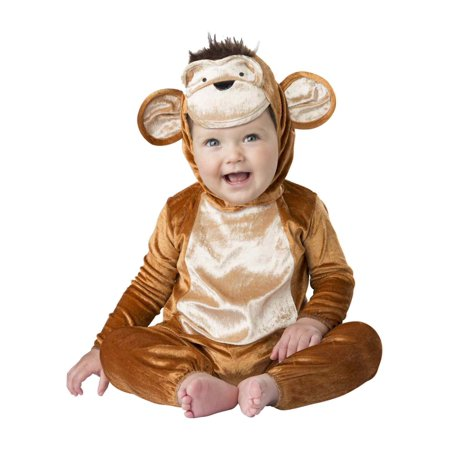 Infant Baby Boys & Girls Monkey Business Suit Costume Jumper & Hat](Halloween Jumpers Rentals)