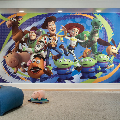 Room Mates Extra Large Murals Toy Story 3 10.5' x 72'' Panel Wallpaper