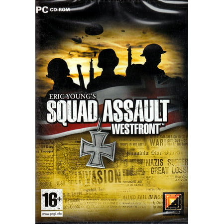 Eric Young's Squad Assault Westfront PC CDRom - World War II, Real-Time, 3D Strategy (Best World War 2 Computer Games)