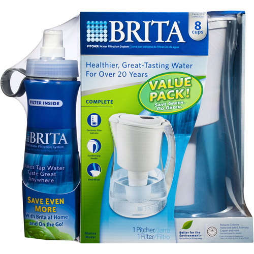 Brita Pitcher with Bottle Value Pack  35770