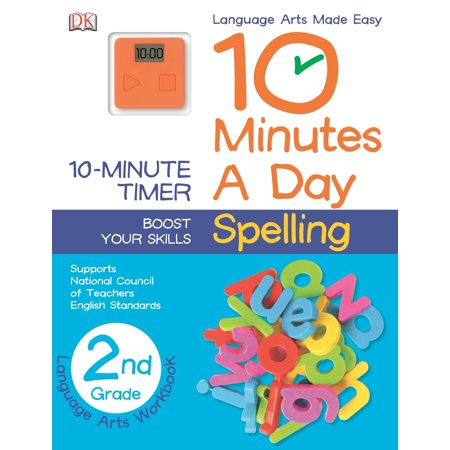 10 Minutes a Day: Spelling, Second Grade : Supports National Council of Teachers English