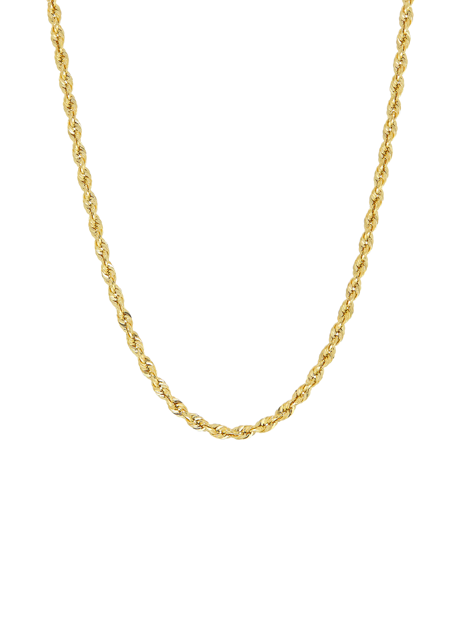 Simply Gold™ 10K Yellow Gold 2.9mm Rope Chain Necklace, 22""