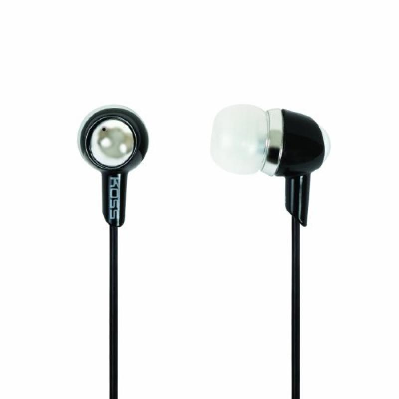 Koss KEB30K Ear Bud Headphones, Black by Koss