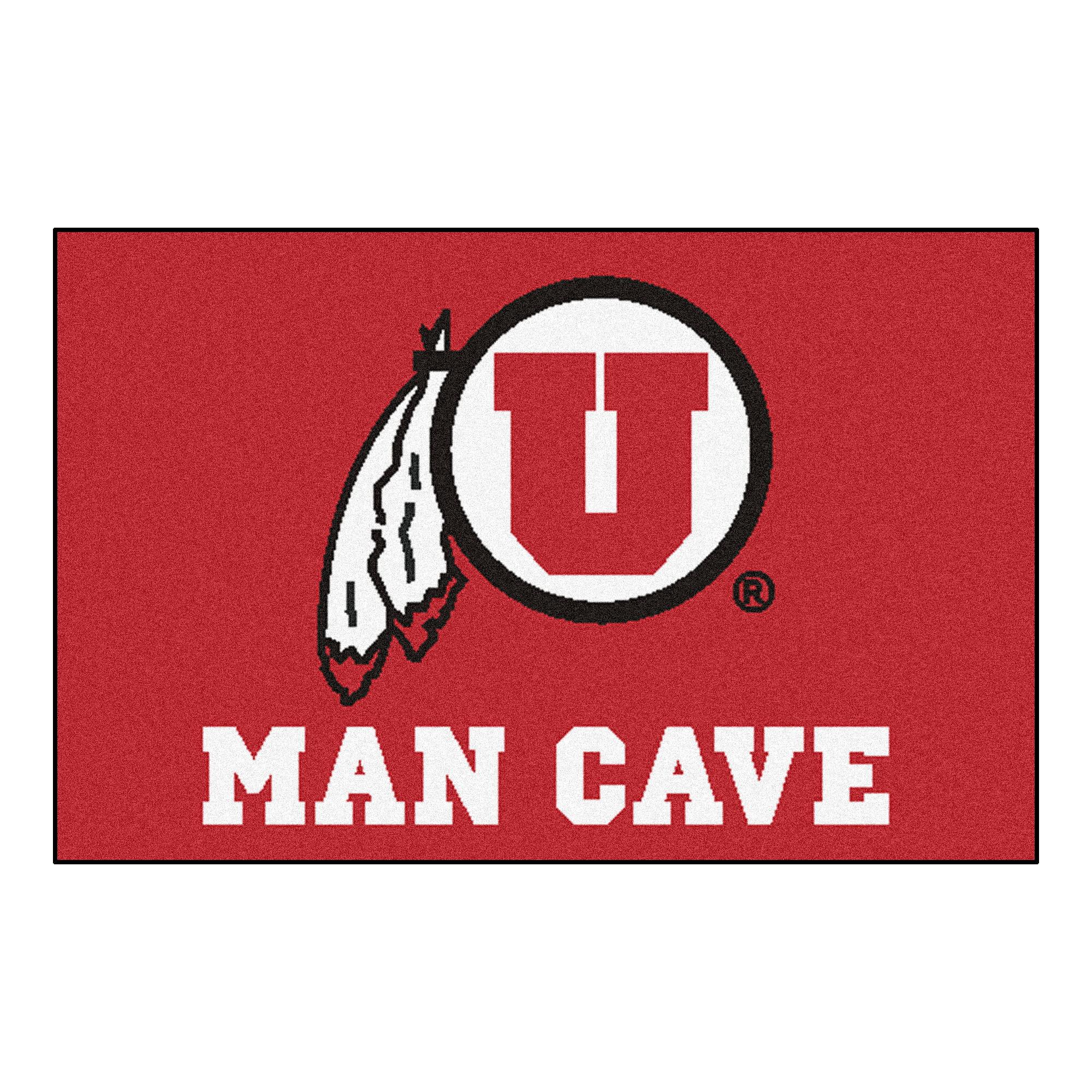 "Utah Man Cave Starter Rug 19""x30"""