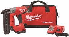 Milwaukee M18 Fuel 18 Gauge Brad Nailer Kit by Milwaukee Electric Tool
