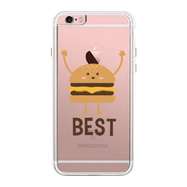 365 Printing Burger iPhone 6 6S Phone Case Best Friends Matching Cover