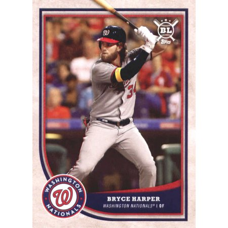 2018 Topps Big League 25 Bryce Harper Washington Nationals Baseball Card Gotbaseballcards
