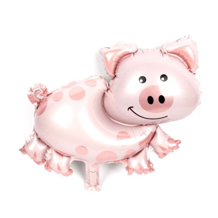 Unique Bargains Anniversary Celebration Ornament Foil Pig Shape Inflation Helium Balloon 18 - George Pig Helium Balloon