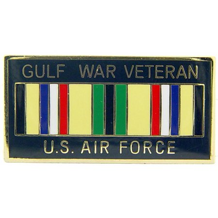 U.S. Air Force Gulf War Veteran Ribbon Pin 1
