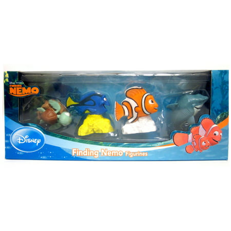 Finding Nemo - 4 Pack (Other) Finding Nemo - 4 Pack includes Nemo, Dory, Bruce and Squirt