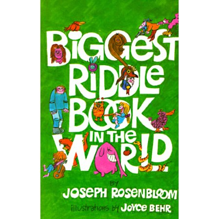 Biggest Riddle Book in the World](Halloween Childrens Riddles)