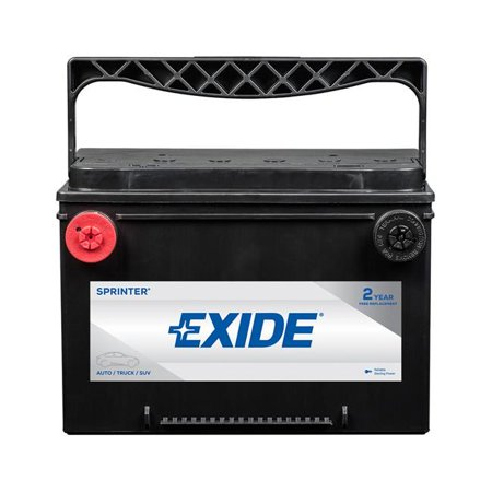 Exide SX78 12V Sprinter Max Extrem Lead Acid 6-Cell 800 Cold Cranking Auto Battery](Extrem Car)